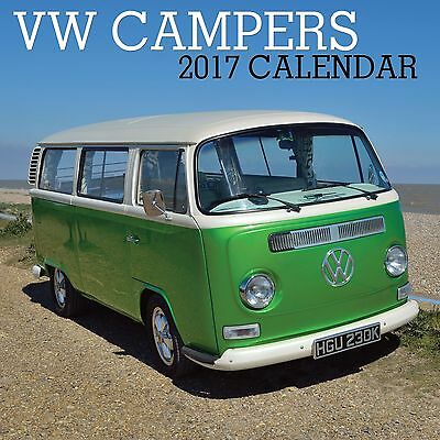VW Campervans Calendar 2017 with free pull out planner