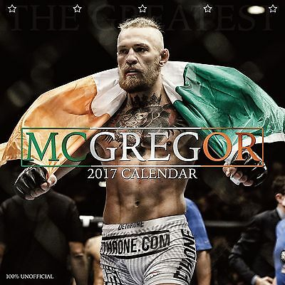 Conor McGregor Calendar 2017 with free pull out poster