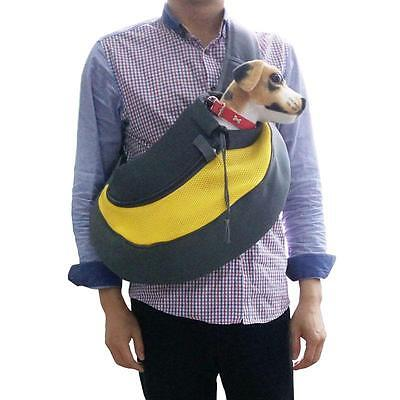Pet Carrier Dog Sling Backpack Cat Puppy Comfort Outdoor Travel Tote ShoulderBag