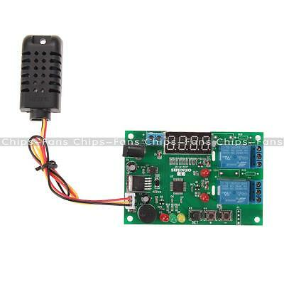 New Digital LED Display Temperature & Humidity Control Board AM2301 with Sensor