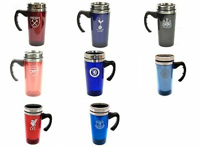 Football Team Club Travel Thermal Coffee Gift Mug Hot Cold Drinks Logo Official