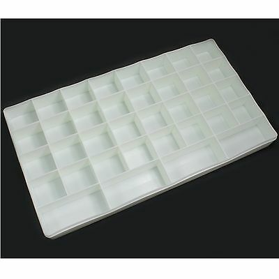 36 Slots Empty Plastic Storage Case Tool Box for Nail Art Beads Paint Pigment