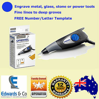Dremel Engraving Tool F0130290BA Security Personal Letter Number Plate Groove