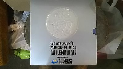 Sainsbury's Makers of the Millennium Medal Collection Complete