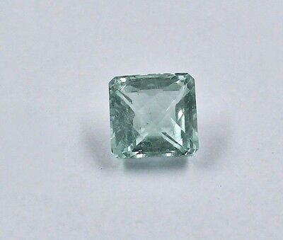 Best Price 9.98Cts Natural Blue Aquamarine Square Cut Gemstone For Ring Pendant