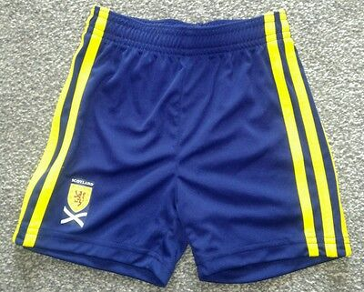Scotland Football Adidas Away Shorts 3-6 months
