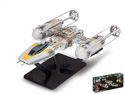 Star Wars Rogue One Y-Wing Fighter Easykit Plastic Kit 1:72 Model REVELL