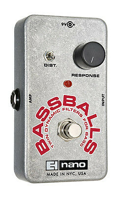 Electro Harmonix Bass Balls Effects Pedal (NEW)