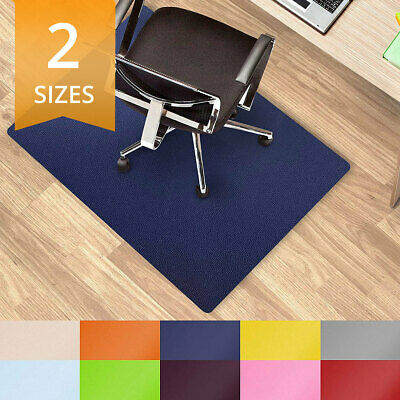 Colour Office Desk Chair Mat Hard Floor Protection Carpet Cover Non Slip Mats