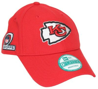 buy popular 2e337 72e03 Kansas City Chiefs New Era 9Forty NFL The League Playoff Patch Adjustable  Hat