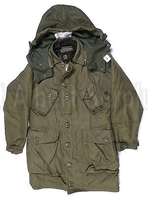 Canadian Army Winter Parka Coat - Sz 7138 - Extreme Cold Weather -2675D12