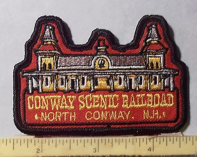 Patch ~ North Conway New Hampshire Scenic Railroad Station