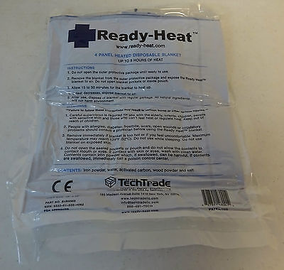Ready-Heat 4 Panel Heated Disposable Blanket New in Packaging