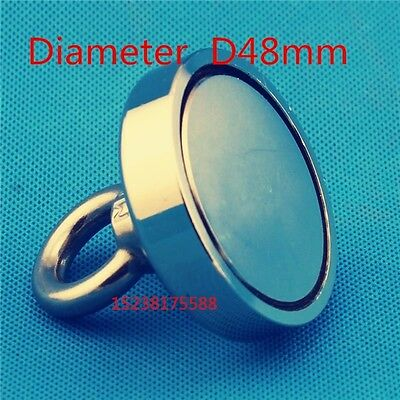 2017 D48mm RECOVERY MAGNET VERY STRONG. SEA, FISHING, DIVING, TREASURE HUNTING