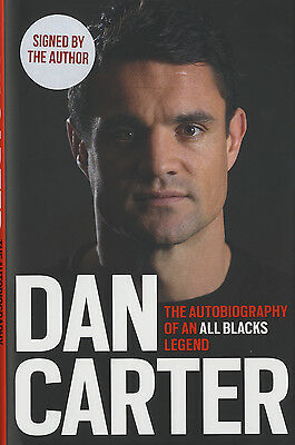 Dan Carter - New-Zealand Rugby Union Legend - Hand Signed Autobiography.