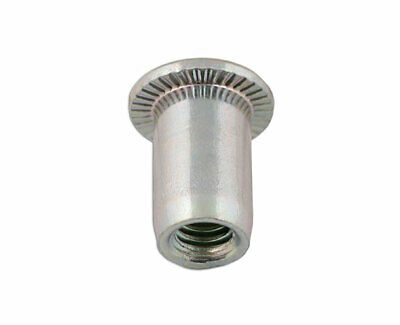 Connect 32800 Thin Sheet Threaded Insert 8.0mm Pk 50