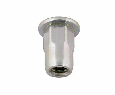 Connect 32805 Half-Hex Threaded Insert 8.0mm Pk 50