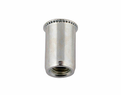 Connect 32795 Thin Sheet Threaded Insert 8.0mm Pk 50