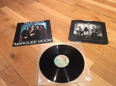 TELEVISION - MARQUEE MOON LP - 1st PRESSING A1/B2 MATRIX - MINT