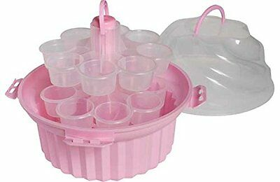 Cupcake Holder Caddy  24 Cup Cakes Storage Carrier Box Container Travel Box