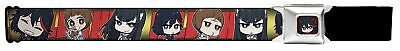 Kill La Kill Japanese Anime Series Chibi Students Seatbelt Belt