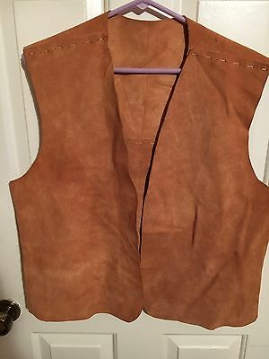 YMCA Vtg Indian Guides Vest With 10 Patches