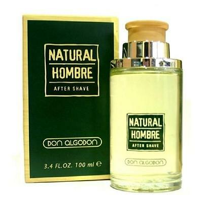 NATURAL HOMBRE de DON ALGODON - After Shave Lotion 100 mL - Man / Uomo / Homme