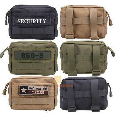 600D Outdoor Tactical Military Molle Utility Accessory Magazine Waist Pouch Bag