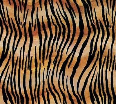 """TIGER STRIPE Tissue Paper for Gift Wrapping 20""""x30"""" Sheets Animal Print Safari"""