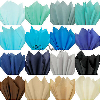 """*16 COLORS!!* Tissue Paper for Gift Wrapping 20""""x26"""" Solid Sheets YOUR CHOICE!"""