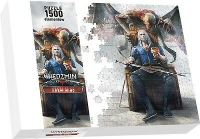 The Witcher 3: Blood and Wine - Puzzle | 1500 Teile + Poster | NEU & OVP