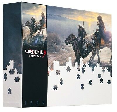 The Witcher 3 - Puzzle | Mysterious Riders | 1500 Teile + Poster | NEU & OVP