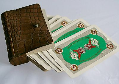 "Rare Antique The Royal Mail Steam Packet Company ""A Square Deal"" Playing Cards"