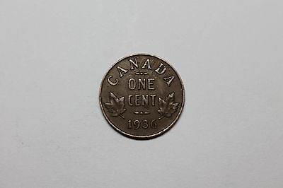 1936 Canadian cent