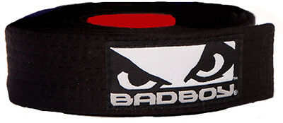 Bad Boy BJJ Black Belt with Patch - A1
