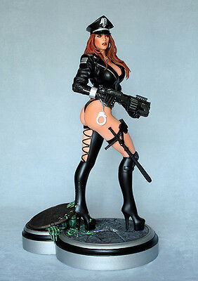 Exclusive Hcg 1/4 Scale Heavy Metal Cybercop Statue Figure Bust & Art Print