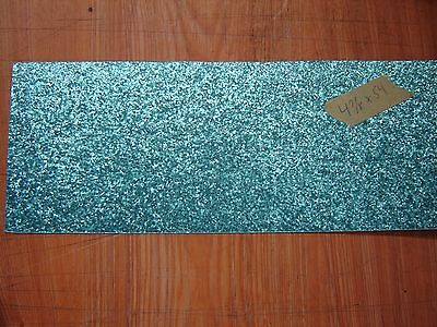 "New Delmar Turquoise Sparkle Drum Wrap, 4-7/8"" x 54"", Worldwide Shipping"