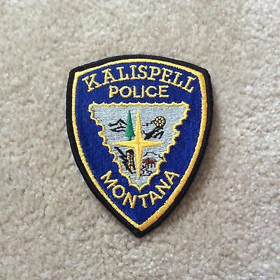 Kalispell Montana Police patch