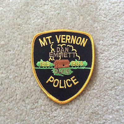 Mt. Vernon Police patch