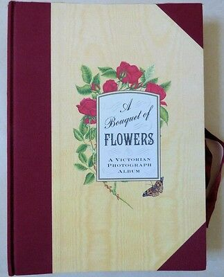 'A Bouquet of Flowers' Victorian style Photo Album - Beautifully Illustrated