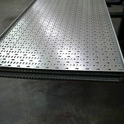 Unistrut Medium Duty Cable Tray for cable & pipework - 900mm x 3m long - qty 7