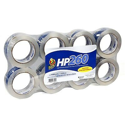 Duck Brand High Performance 3.1 Mil Packaging Tape, 1.88-Inch x 60-Yard, HP260