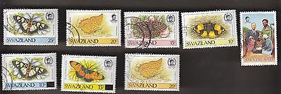 SWAZILAND 8 different lot