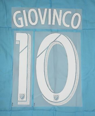 Flocage officiel MLS Giovinco Toronto home 2014/2016 print nameset