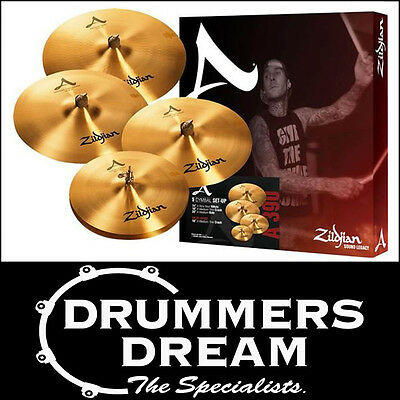 Brand New Zildjian A Series Cymbal Box Set Pack A391 Avedis