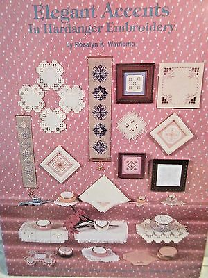 ELEGANT ACCENTS IN HARDANGER EMBROIDERY Chart by Rosalyn Watnemo