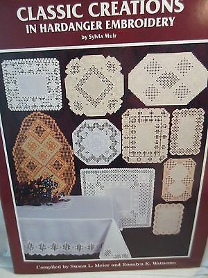 CLASSIC CREATIONS IN HARDANGER EMBROIDERY Chart by Sylvia Muir