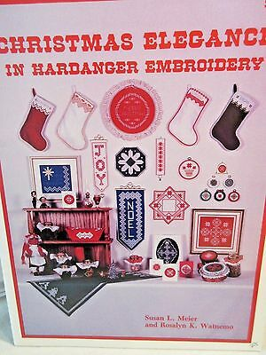 CHRISTMAS ELEGANCE IN HARDANGER EMBROIDERY Chart by Rosalyn Watnemo