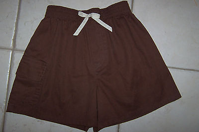 Brownie Girl Scout Cargo Shorts Size XS Extra Small Uniform