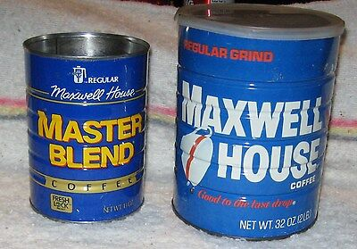 MAXWELL HOUSE FOLGERS Coffee Can Lot